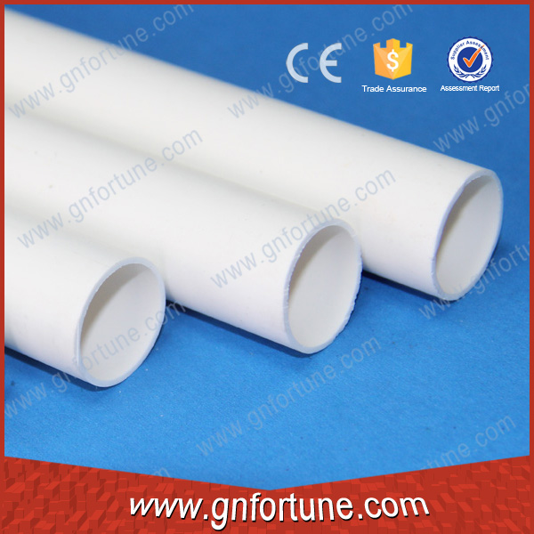 Heat resistant thick wall pvc pipe small plastic pipe