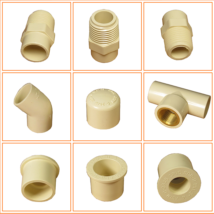 Hot selling names of cpvc pipe fittings fitting buy