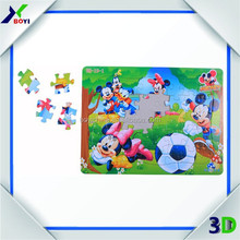 Custom Cartoon Paper Jigsaw IQ Puzzle Games