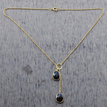 Highest quality SMOKY sterlingsilver necklace wholesale famous brand hot sale style jewelry SSN 3