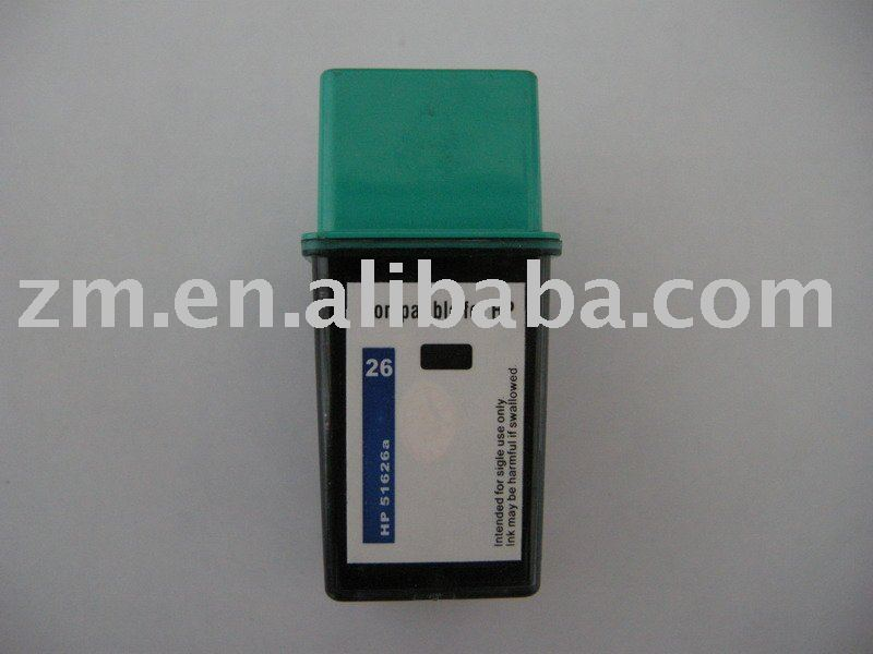 compatible ink cartridge of hp26