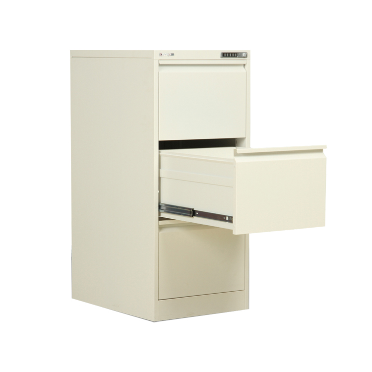 Fireproof 4 drawer high file cabinet drawer metal archive ZX-C18/A