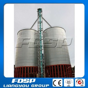 Professional Supplied Wood sawdust pellet Silo / 5000T used grain silo for sale / Bolted Assembly steel silo