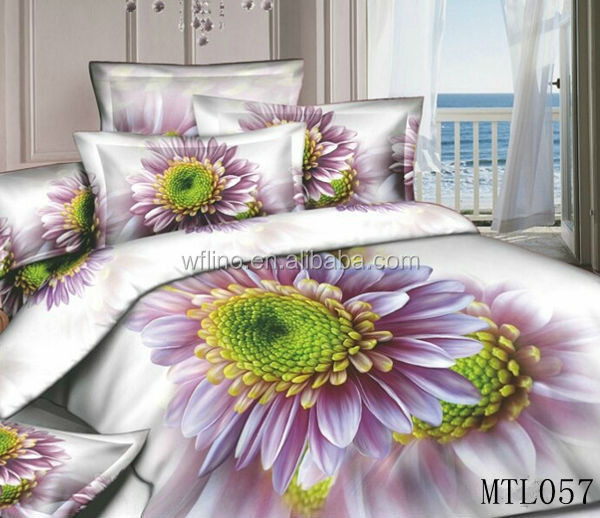 American Made Bed Sheets/3d Effect Bedding/hand Made Bed Sheet