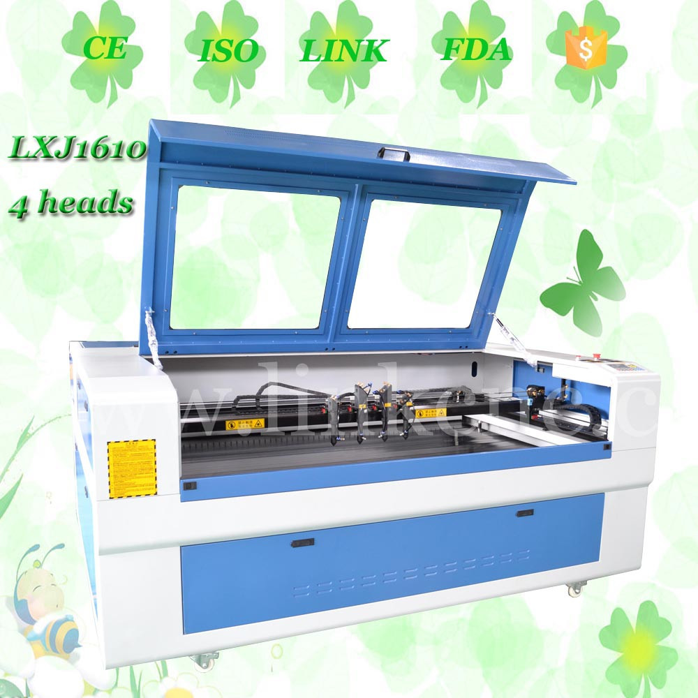 LINK Brand 1610 <strong>laser</strong> cutting machine for non metal/ top selling 100w wood <strong>laser</strong> cutting machine lxj1610