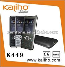 K449 Quad band cell phone with metal shell $16.5