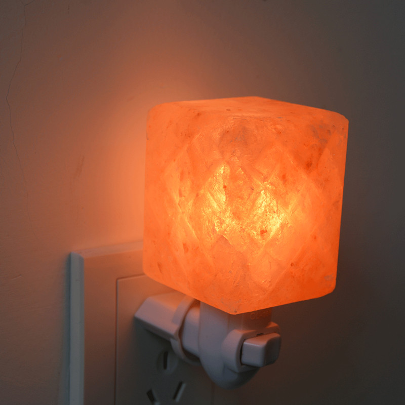 Himalayan mosaic Salt Night Light Lamp for wall light decoration OEM package