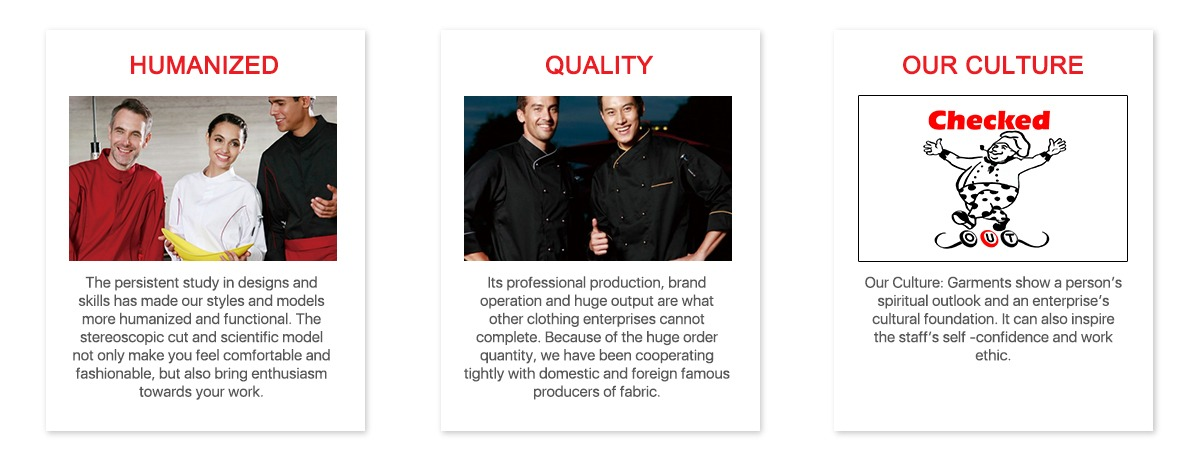 Hat Garments Ltd Beijing Coat amp; Attire phViwhduQZ Chef Duomilai fnzZ8z56