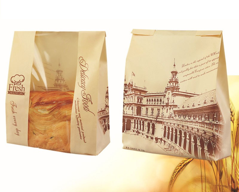 Bakery Bread Patisserie Sandwich Packaging Film Front