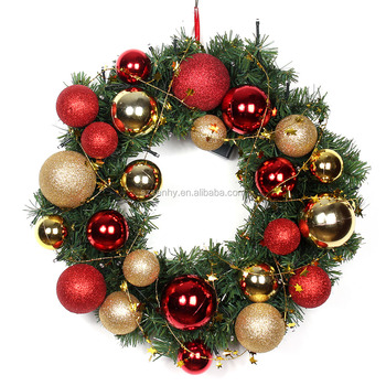 2016 new product battery lighted up Wreaths