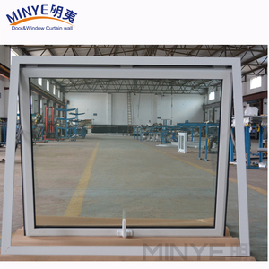 push up top hung window AS2008 standard used thermal break aluminum alloy