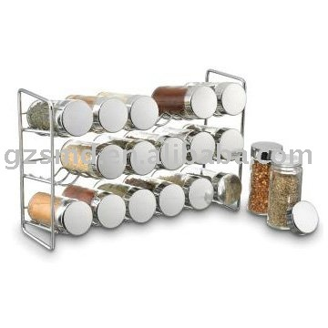 18 pot chrome tag re pices porteurs tag res de rangement id de produit 374134919 french. Black Bedroom Furniture Sets. Home Design Ideas