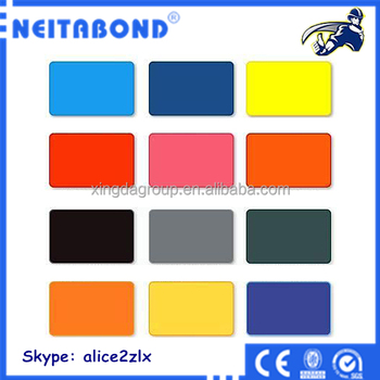 alucobond aluminum composite panel color chart buy. Black Bedroom Furniture Sets. Home Design Ideas