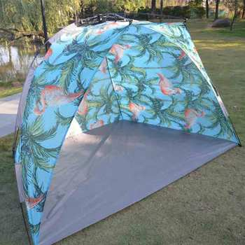 Tagvo Pop Up Beach Tent Sun Shelter Easy Set Up Tear Down