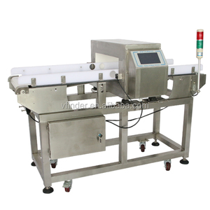 FDA standard Conveyor Belt food processing Metal Detector machine