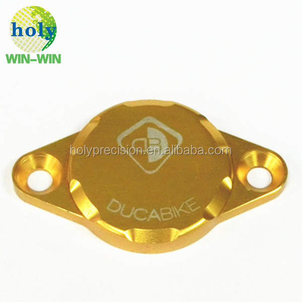 cnc machining part cover by 6061 grade aluminum cnc spare parts