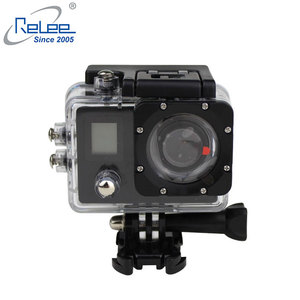 Relee Action Camera 4K Waterproof Wifi Remote Control 12MP Ultra HD 170 Degree Wide Angle Helmet Bike Sport camera