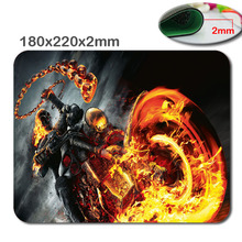 Terrible skull and motorcycle game mouse pad wholesale mat razer mouse laptop brand game mouse pad players notebook mouse pad
