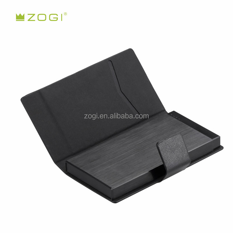 Promotion power bank 8000mah with high quality leather material