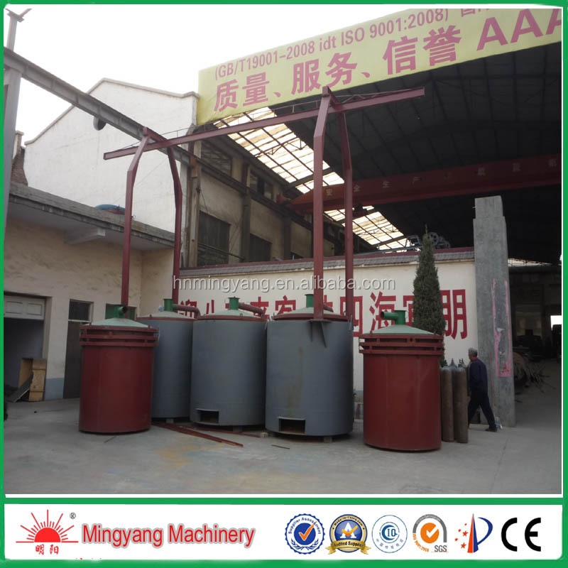 effient CE approved biomass briquette carbonization furnace charring stove