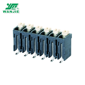 5.0mm pitch double level SMT spring high temperature LCP terminal block connector (WJ212VS-THR-5.0)