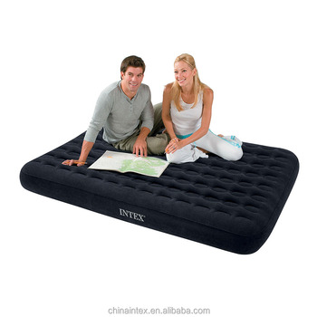 intex double luxury honeycomb inflatable mattress air bed