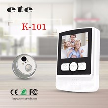 2015 Night vision infrared exitec motion detection wide angle sensor digital door peephole viewer