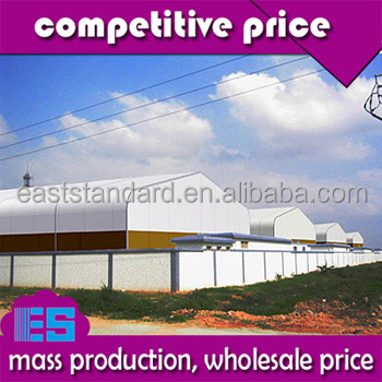 East Standard fast construction pre fabricated mobile warehouse