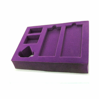 Top quality factory price velvet foam box inserts for packaging