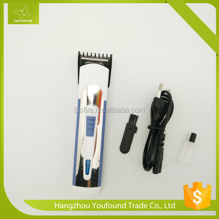 NHC-6003 Hair Trimmer With One AA Battery Wireless Rechargeable Hair Clipper