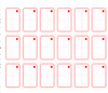 rfid pvc card inlay sticker sheets membership card sheet for plastic card production