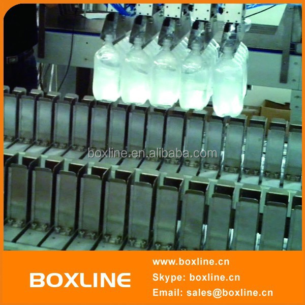 Industrial bottle handling robot hand