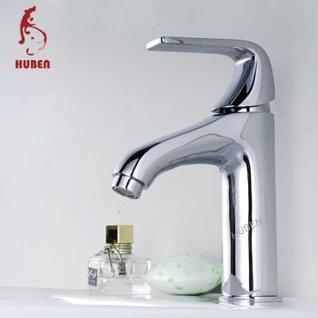 Ornate Basin Faucet Chrome Bathroom