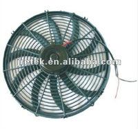 S blade 16 inch auto ac condenser fan/cooling fan