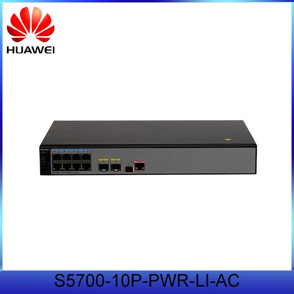 Cellphones & Telecommunications Original Hua Wei S5700-li Series 8 Port Gigabit Switch S5700-10p-li-ac With Cheap Price Fiber Optic Equipments