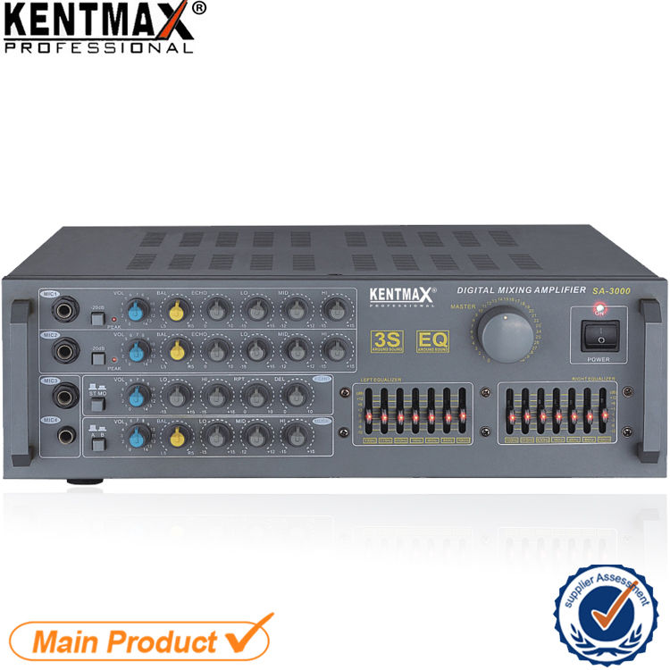 Affordable Price 35 Watt 220 Voltage 4 Ohms 2CH Power Mixer Professional Amplifier