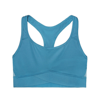 HIgh Quality Women's CrissCross Back Removable and Wireless Pads Tank Top Sexi Girl Wear Yoga Sports Bra