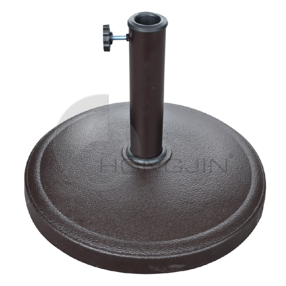 Hongjin 32/ 34/ 38mm Pole Diameter Garden Resin Parasol Base