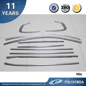 Stainless Steel Car Window Trim For Bmw X6 E71chrome Frame Cover 10 Pcs Auto Accessories From Pouvenda E71window