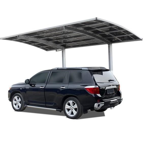 Portable Modern Polycarbonate Roof Cantilever Carport ...