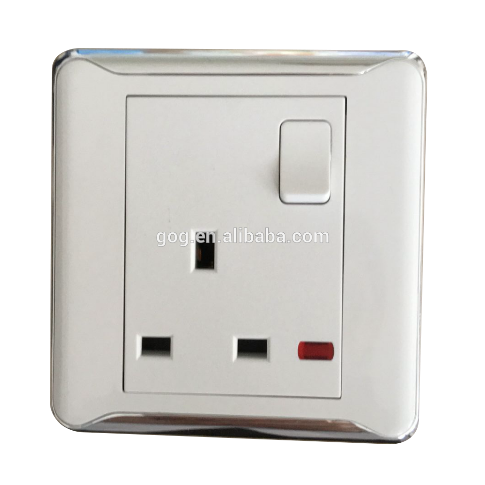 Modern Uk Standard Wall Electric Switch