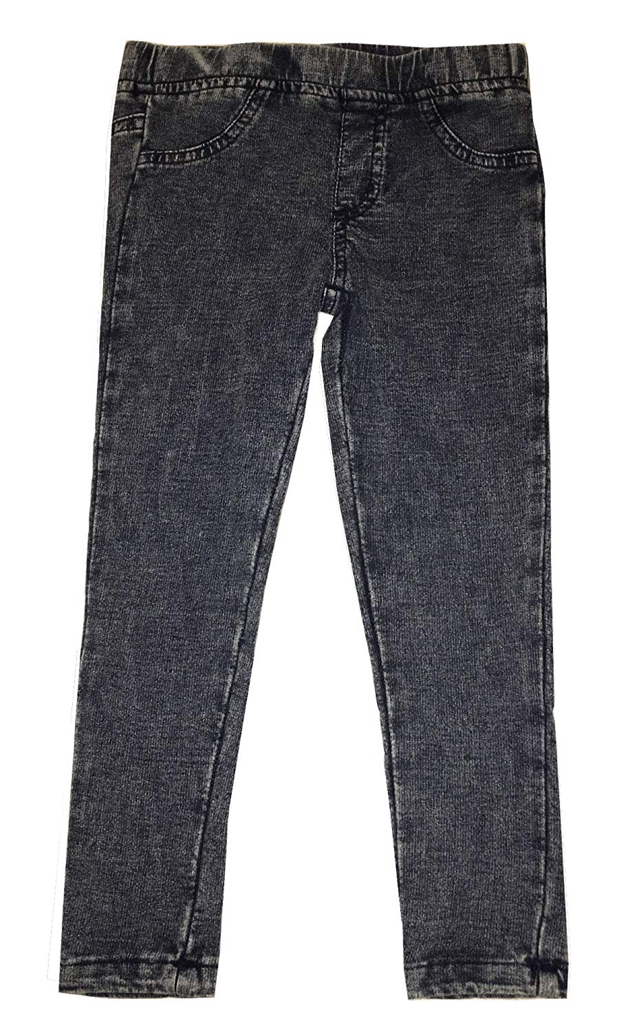 d1bbe5b248bd4 Get Quotations · Epic Threads Girls Ponte Pant Jeggings Blue Acid Wash Size  5