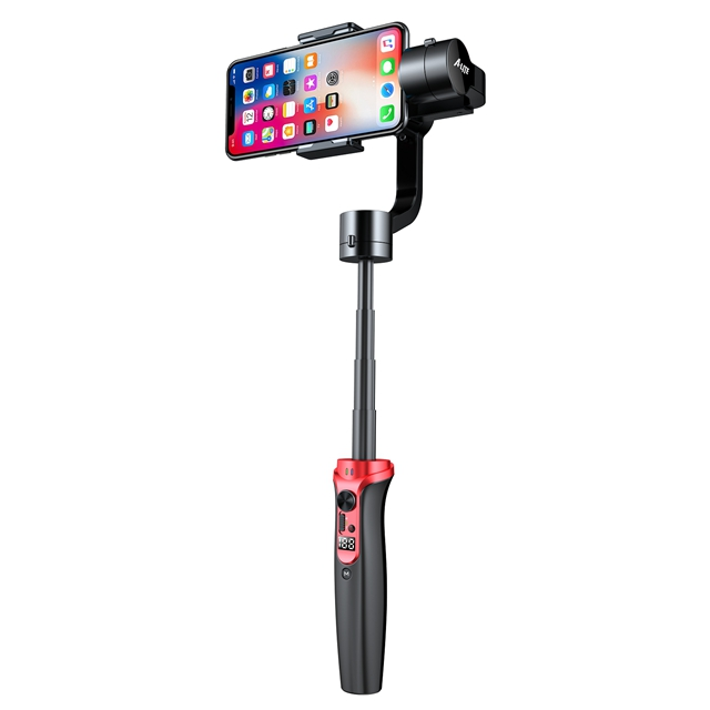Wewow 3-Axis Extension Selfie Smartphone Gimbal Stabilizer for Mobilephone Action Camera