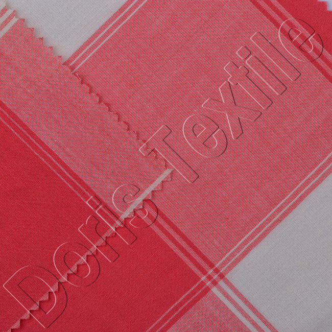 100% COTTON YARN DYED VOILE /YARN DETED FABRIC