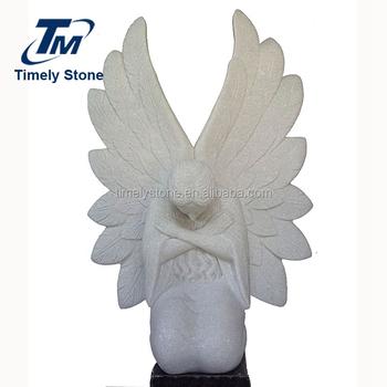 Etonnant Life Size Weeping Angel Garden Statue