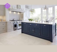 Lingyin modular wooden kitchen cabinet with Quartz countertops