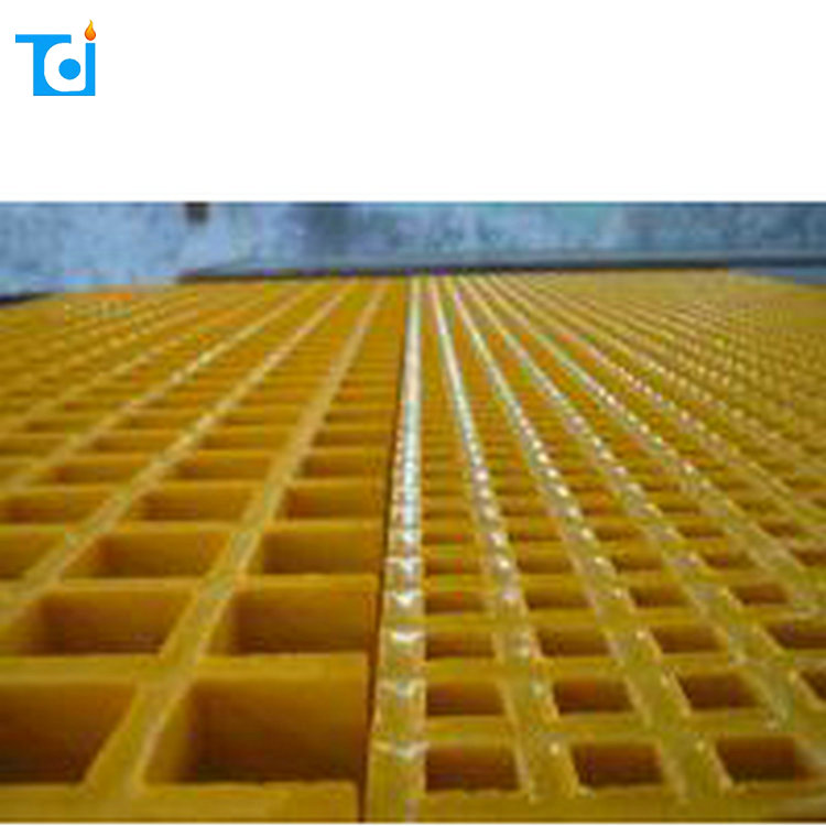 Factory Supply FRP Molded Walkway Floor Fiberglass Plastic FRP Grating