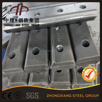 Good quality rail fishplate for 43kg steel rail