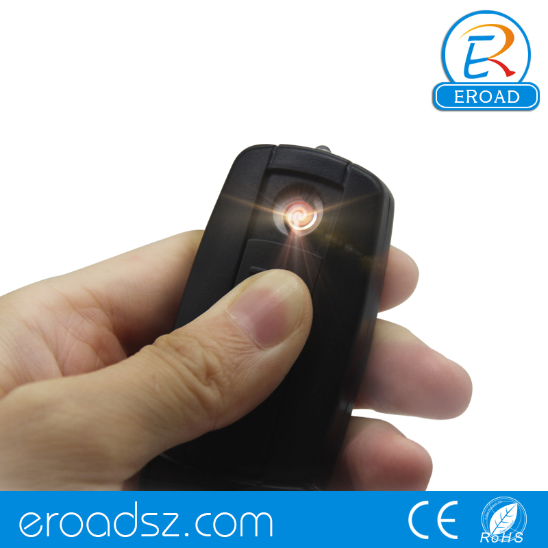 Eroad windproof flameless fancy black usb charged lighter wrap