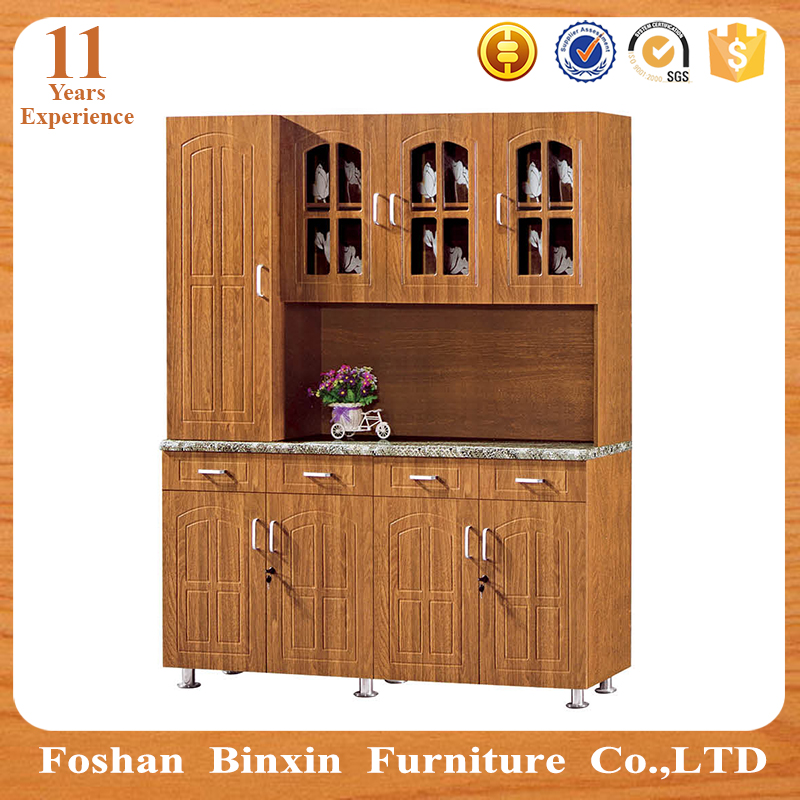 MDF kitchen cabinets door hinges types cheap kitchen cabinets from China
